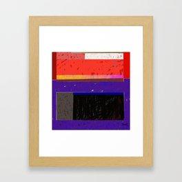Downe Burns - Life Trip 7 p2 Framed Art Print