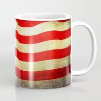 america Mugs featuring America by ThePhotoGuyDarren