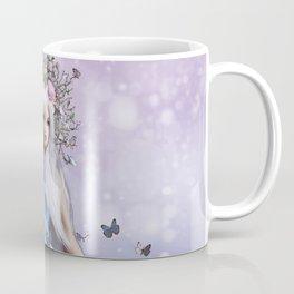 Lady Butterfly Coffee Mug