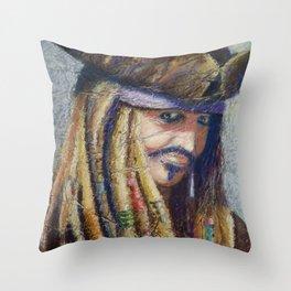 Ole Seadog Throw Pillow
