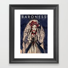 Baroness and Royal Thunder live in Berlin Framed Art Print