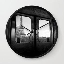 Eiffel Wall Clock