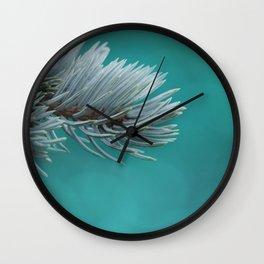 Blue spruce 3 Wall Clock