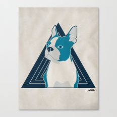 In Dog We Trust. Canvas Print