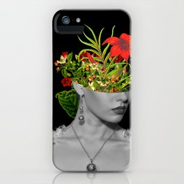 Flower Head iPhone Case