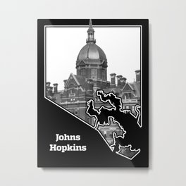 Johns Hopkins Metal Print