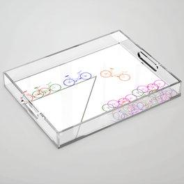 Bike 1, Vector, Design Acrylic Tray
