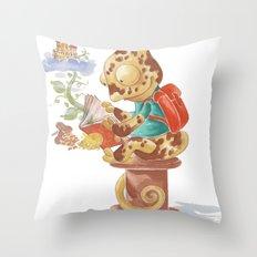 Beans Camelot Throw Pillow