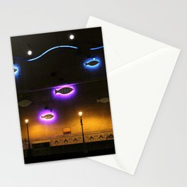 Glowing Fish Stationery Cards