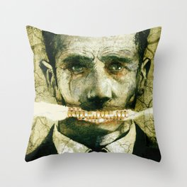Manchurian Candidate Throw Pillow