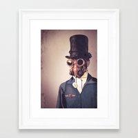 steampunk Framed Art Prints featuring Steampunk by FalcaoLucas