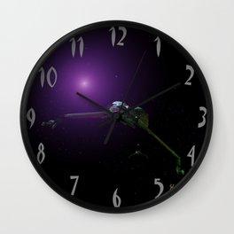 Klingon Birds of Prey Wall Clock