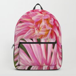 Rapturous Pink Dahlia Backpack