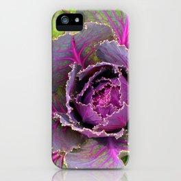 Veins of Purple iPhone Case