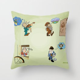 Creativity Catalysts Throw Pillow