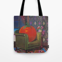 Therapy With A Tomato Milton Glaser - Tomato- Something unusual is going on here - 1978 Tote Bag