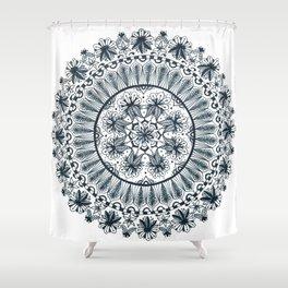 Awaken Nature Mandala Shower Curtain