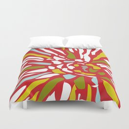 Pia - Abstract floral Duvet Cover