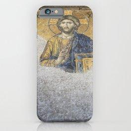 The Deesis Mosiac Upper Gallery Hagia Sophia iPhone Case