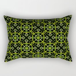 Riveting Grommets Rectangular Pillow