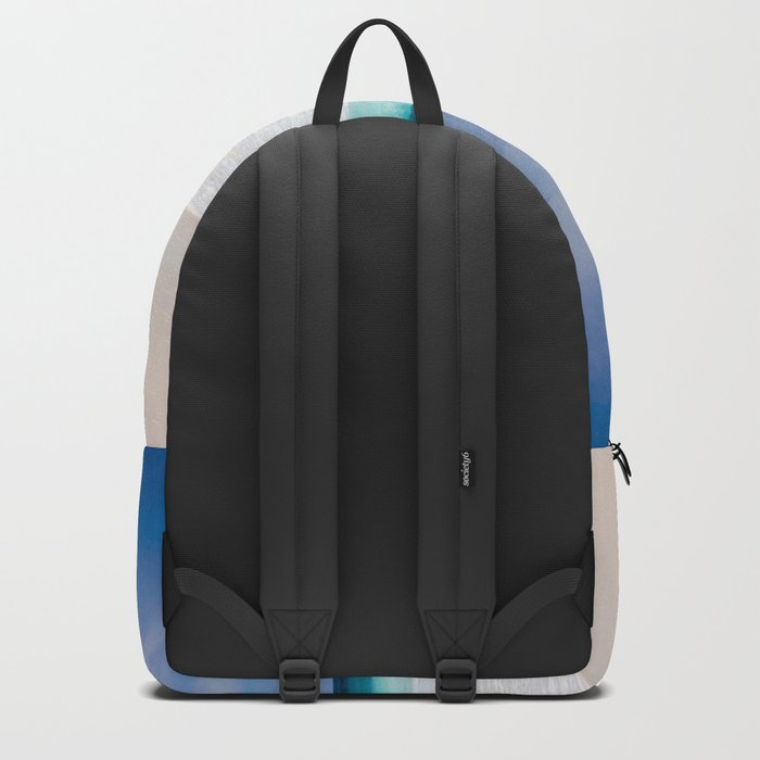 Tropical Turquoise Waves Backpack