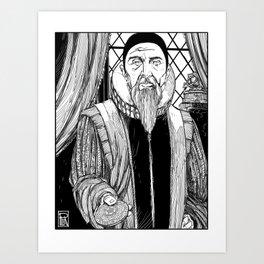 Dr. John Dee Art Print