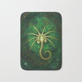 Facehugger (green) Bath Mat
