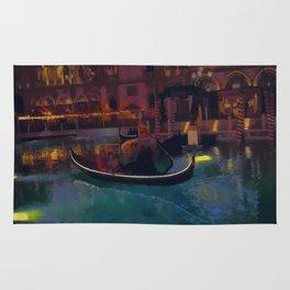 Venice Romantic Gondola Cruise Rug