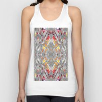 blueprint Tank Tops featuring Blueprint - multi by Etch by Design