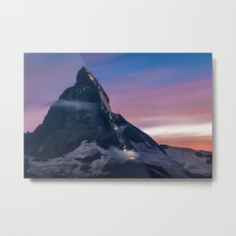 Matterhorn, Switzerland #society6 #decor #buyart Metal Print