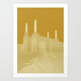 Apricot Power Art Print