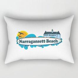 Narragansett - Rhode Island . Rectangular Pillow
