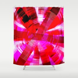 Pink Addict Shower Curtain