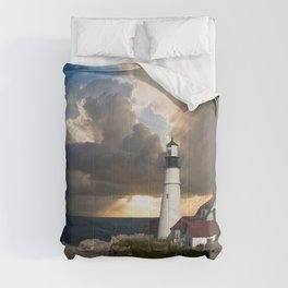 Lighthouse of New England Comforters