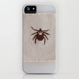 Dog Tick iPhone Case