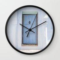 door Wall Clocks featuring Door by Sandy Broenimann