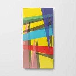 Ambient 19 yellow Metal Print