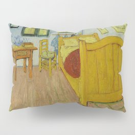 The Bedroom by Vincent van Gogh Pillow Sham