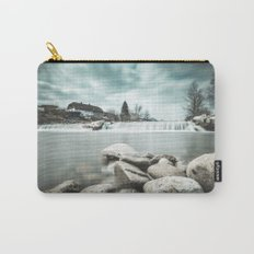 Waterfall on Sora river, Medvode Carry-All Pouch