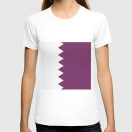 flag of qatar T-shirt