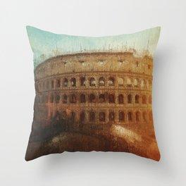 Rome, Colosseum Throw Pillow