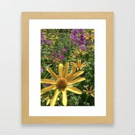 Wild As The Flowers Framed Art Print