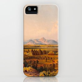 Illustrations Of Guyana South America Natural Scenes Hand Drawn iPhone Case