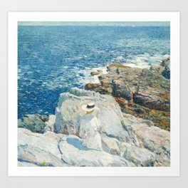 Childe Hassam - The South Ledges, Appledore, 1913 Art Print