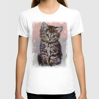 kitten T-shirts featuring Kitten by Michael Creese