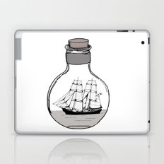 The ship in the bulb Laptop & iPad Skin