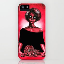 My love on a tray iPhone Case