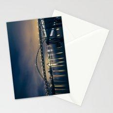 Fremont Bridge at Night Stationery Cards