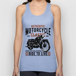 Ride To Live Unisex Tank Top