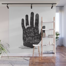 Hand-Etch-Type Wall Mural